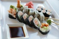Sushi japonés Fotografía de archivo