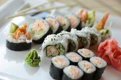 Sushi japonés Fotos de archivo