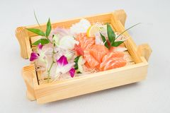 Sushi japonés del alimento Imágenes de archivo libres de regalías