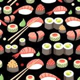 Sushi japonés delicioso libre illustration