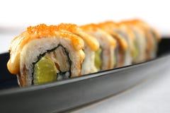Sushi japonés tradicional Imagen de archivo libre de regalías