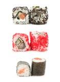 Sushi japonés tradicional del alimento Fotografía de archivo libre de regalías