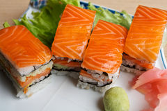 Sushi japonês Fotos de Stock Royalty Free