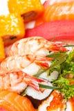 Sushi japonês foto de stock