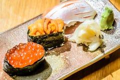 Sushi japonês Foto de Stock Royalty Free