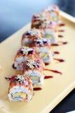 Sushi; japonês Fotos de Stock
