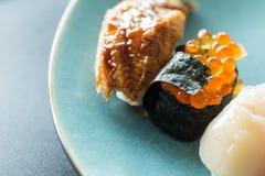 Sushi japonês fresco fotos de stock