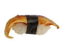 Sushi japonais d'anguille Photographie stock