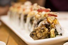 Sushi japonais Rolls Images libres de droits