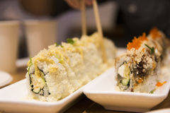 Sushi japonais Rolls Photo libre de droits