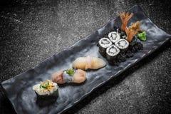 Sushi japonais Rolls Image libre de droits