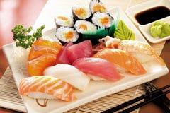Sushi japonês Imagem de Stock