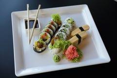Sushi japonés Fotos de archivo libres de regalías