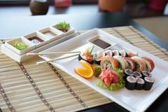 Sushi japonés Foto de archivo