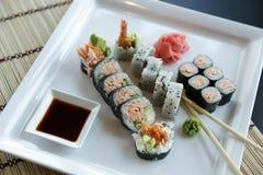 Sushi japonés Imágenes de archivo libres de regalías