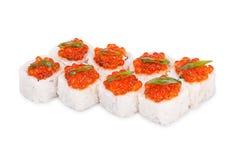 Sushi Kaiser Stockfoto