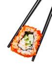 Sushi (Kalifornien rulle) Arkivbilder
