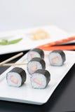 Sushi Kanimaki Makimono Lizenzfreies Stockfoto
