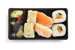 Sushi-Kasten Stockfoto