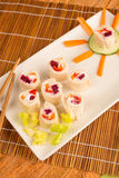 Sushi for kids Stock Images