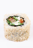 Sushi with leawes salad and paprika Stock Image
