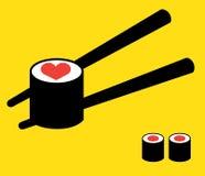 Sushi Logo Concept Stock Image