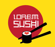 Sushi Logo Concept. Design. AI 8 Supported Stock Photos