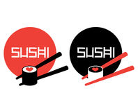 Sushi Logo Concept. Design. AI 8 Supported Stock Photography
