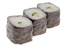 Sushi lokalisiert Stockbild
