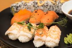 Sushi lunch closeup Stock Photography