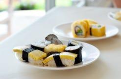 Sushi mélangés Images stock