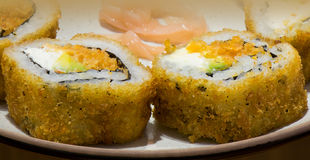 Sushi macro Royalty Free Stock Photo