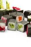 Sushi made dish isolated Stock Photos