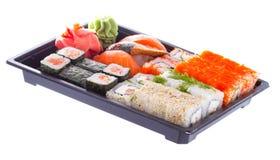 Sushi made dish isolated Royalty Free Stock Photos