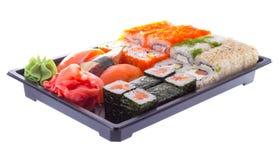 Sushi made dish isolated Stock Image