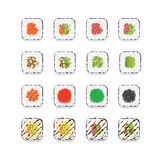 Sushi Maki Fotografie Stock