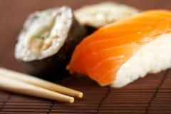 Sushi & maki Royalty Free Stock Photos