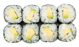 Sushi Maki With Avocado Stockbilder