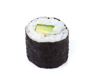 Sushi maki with cucumber Royalty Free Stock Photography