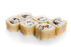 Sushi maki with eel Royalty Free Stock Images