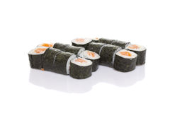 Sushi maki isolated Stock Photo