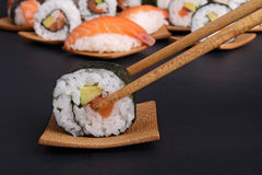 Sushi maki roll Royalty Free Stock Image