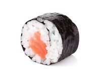 Sushi maki with salmon Stock Photography