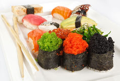 Sushi maki set Stock Photography