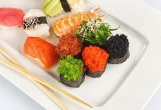 Sushi maki set Royalty Free Stock Photos