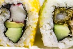 Sushi Makikara Royalty-vrije Stock Foto's