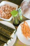 Sushi makings Stock Image