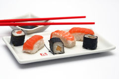 Sushi meal Royalty Free Stock Photo