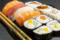 Sushi Meal Japanese Food Stock Image