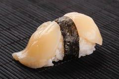 Sushi med basen Arkivfoton